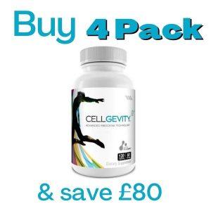Cellgevity 4 Pack Offer 2